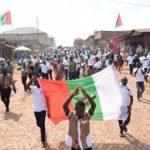 Gitega: le CNDD-FDD organise une compétition de denses des clubs culturels des enfants