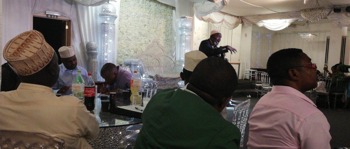 La communauté musulmane de la diaspora burundaise a fêté l'Eid Al-Adha à Bruxelles