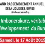 Burundi : Grand rassemblement annuel de la ligue des jeunes du CNDD-FDD - IMBONERAKURE