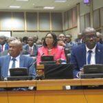 Burundi : Les Hon. Ndikuriyo et Rwasa participent à la 10ème conférence des Assemblées Nationales et des Sénats d'Afrique, en Afrique du Sud