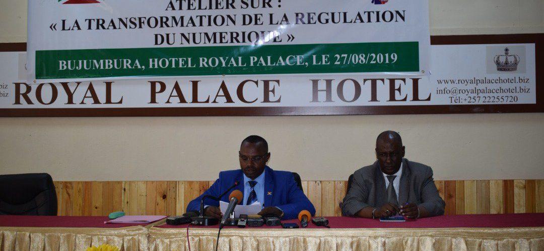 ARCT BURUNDI – La transformation de la régulation du numérique