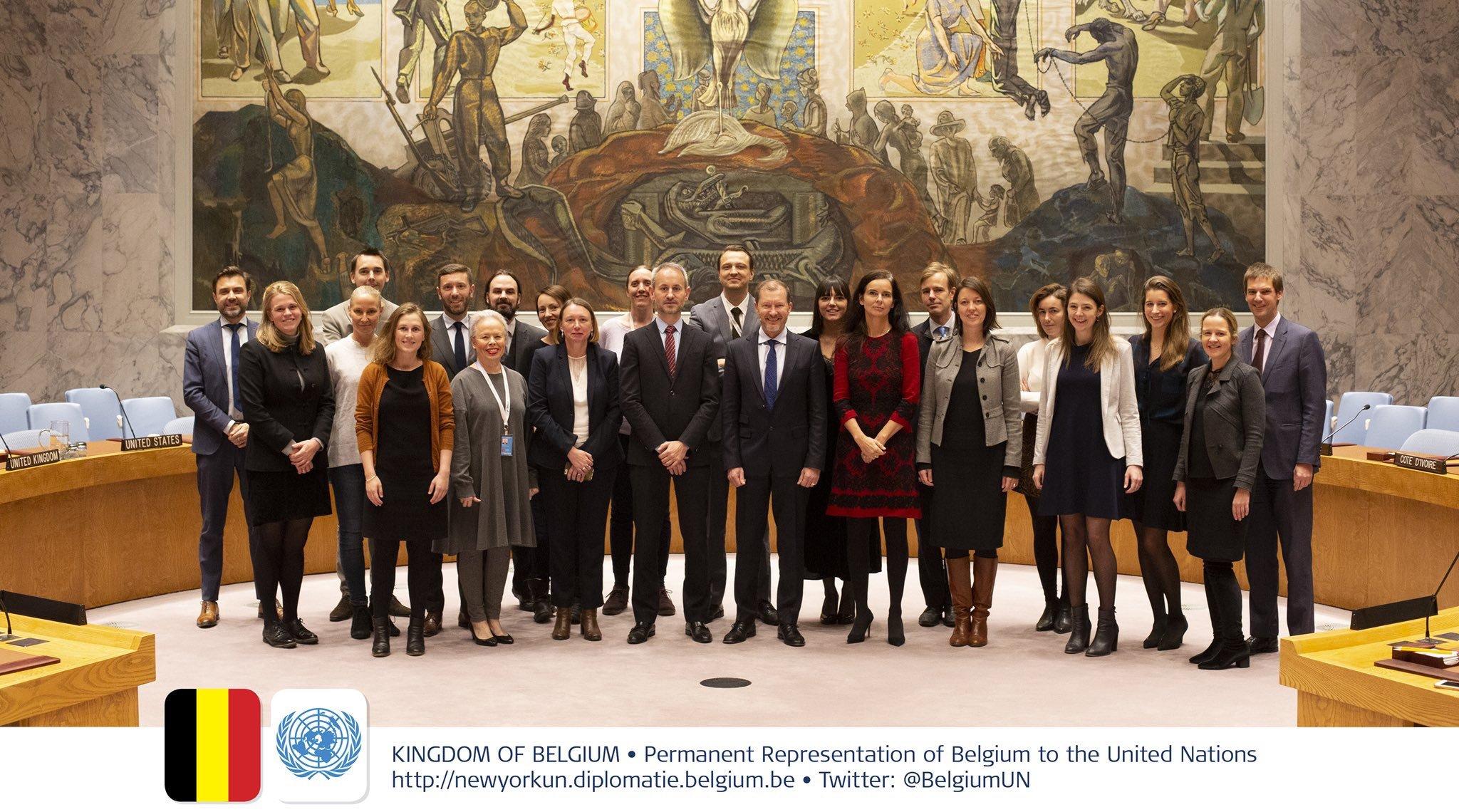 Photo : Belgium UN New York