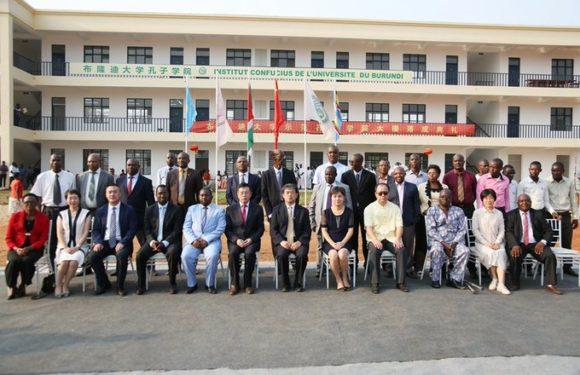 Burundi / Chine : Inauguration de l'Institut Confucius à Bujumbura