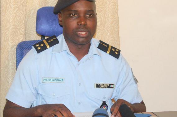 Burundi : La police épingle le double discours du CNL, sans le nommer