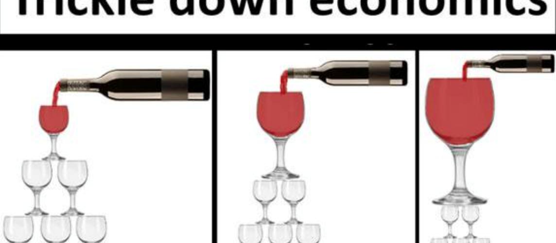 Le mensonge de l'économie de ruissellement