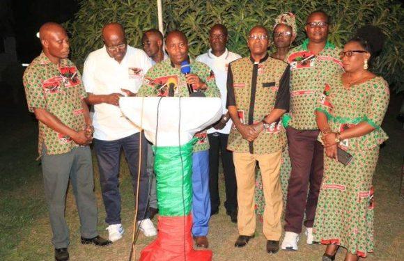 Le Parti CNDD-FDD satisfait de l'organisation des élections sans concours externe