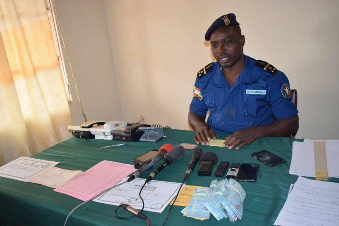 Gitega: la police appréhende des faussaires de documents