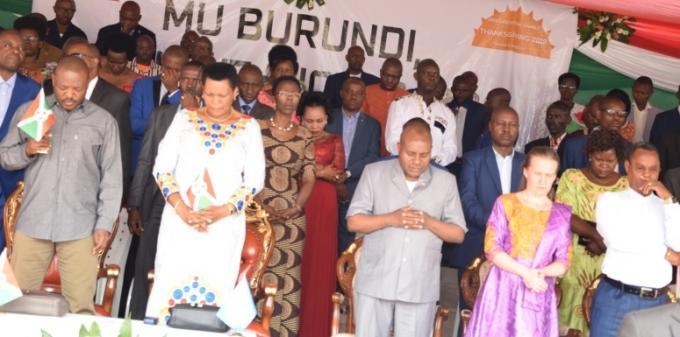 Bubanza/prière d'action de grâce: le respect de la loi, une clé pour la réussite