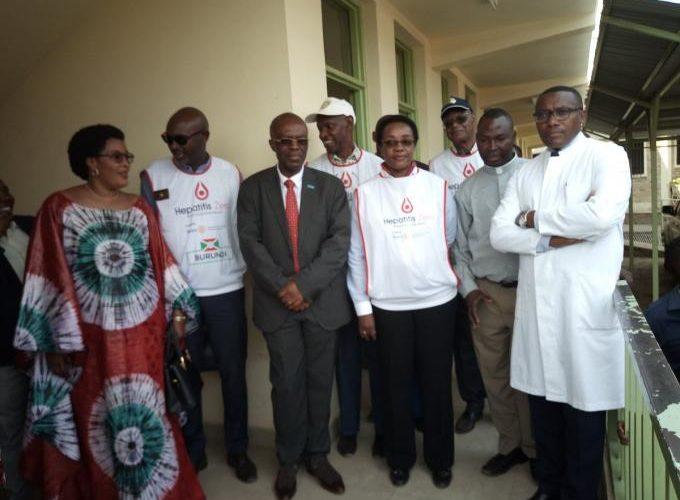 Le Ministre de la santé publique visite le centre Nouvelle espérance