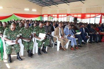 Le Chef de l'Etat satisfait de la situation sécuritaire qui prévaut dans le pays