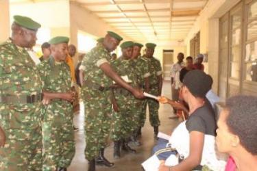 Le 47ème bataillon AMISOM a porté secours aux malades de l'HPRC