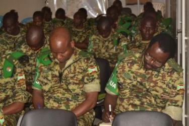 Le rôle d'un officier d'Etat-major contingent est incontournable pour la réussite de la mission