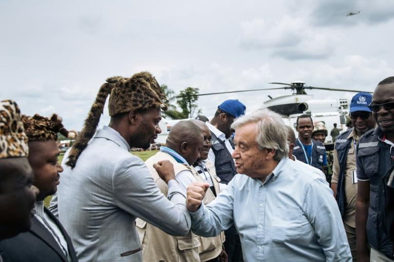 """RDC: """"Les Nations unies n'abandonneront pas le peuple congolais ( Photo : TV5 Monde  02/09/2019 )"""
