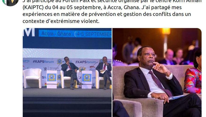 Burundi : Sur Twitter, l'ancien dictateur BUYOYA nargue l'Etat et les Burundais