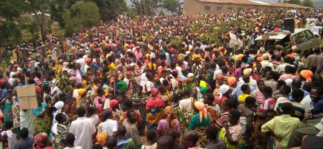 Burundi :  Un bon millier de femmes CNDD-FDD ABAKENYERERARUGAMBA rassemblées à Ntega, Kirundo