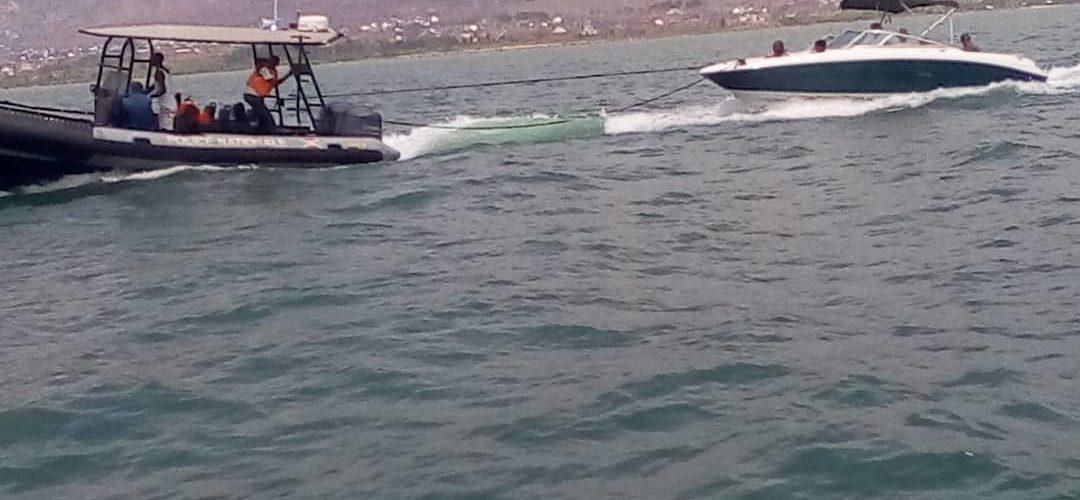 La marine de la Police Nationale du Burundi sauve 7 touristes sur le lac Tanganyika