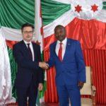 La France nomme un nouvel ambassadeur au Burundi : M. Stéphane GRUENBERG