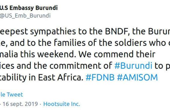 Somalie : 12 soldats du Burundi de l'AMISOM assassinés par des AL SHABAAB renforcés