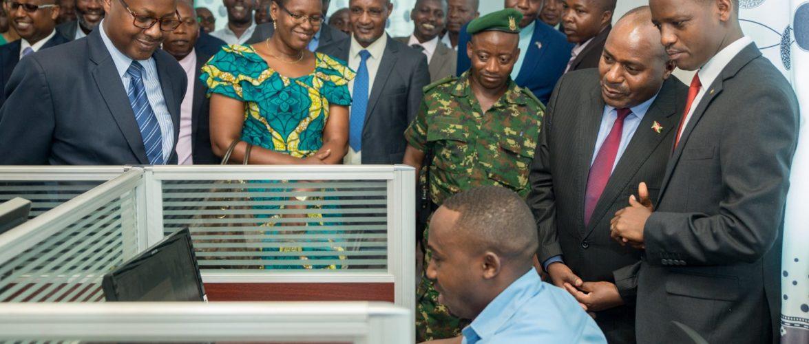 Burundi : Visite d'une imprimerie de haute technologie flambant neuve