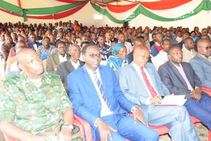 Mwaro : la population appelée à s'auto développer