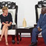 Le Président de l'Assemblée nationale reçoit en audience l'Ambassadeur des Pays Bas