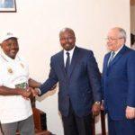 Le Chef de l'Etat reçoit en audience le Ministre gabonais des affaires étrangères