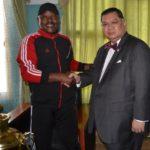 Le Chef de l'Etat reçoit l'envoyé spécial des USA pour la région des grands lacs d'Afrique
