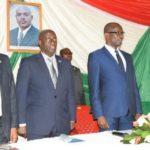 Mwaro : Le Président du Sénat satisfait de la situation sécuritaire