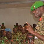 Visite du Commandant Adjoint de l'AMISOM au contingent burundais