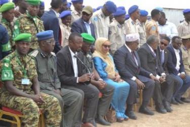 Clôture de formation à l'Ecole de Police Somalienne de Johwar
