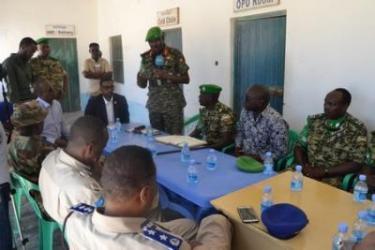 Transfert graduel des responsabilités aux Forces de sécurité somaliennes continue