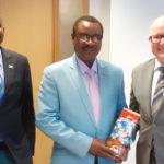 Visite de l'Ambassadeur extraordinaire plénipotentiaire du Burundi en Belgique chez le Directeur de l'Afrique Sub-Saharienne au Ministère Belge des Affaires Étrangères