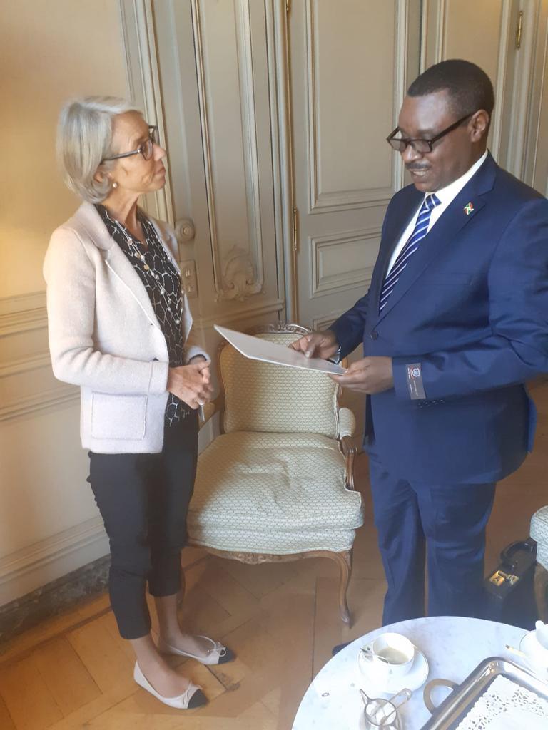 Photo : Ministère burundais des Affaires Etrangères