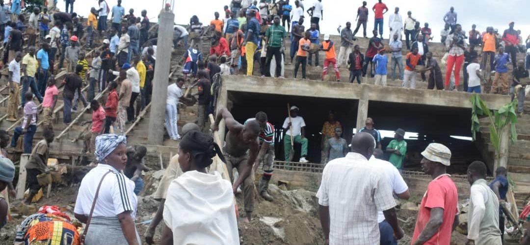 Burundi : Le Président de l'Assemblée Nationale aux travaux de développement communautaire à Bubanza