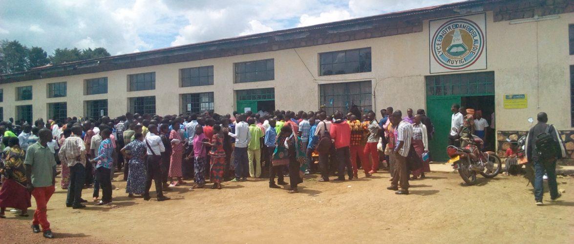 Burundi :  Concours national de recrutement des enseignants, édition 2019-2020