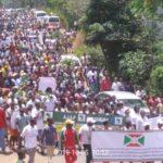 Burundi /  Mouvement Décolonial :  2 Millions de Burundais ont manifesté samedi dernier