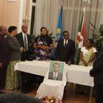 Ambassade du Burundi en Belgique : Commémoration du 26ème anniversaire de l'assassinat de Feu Melchior NDADAYE, héros national