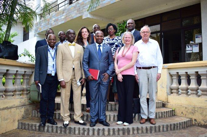 Burundi / Pays-Bas : Visite d'une délégation de la compagnie néerlandaise STC-NESTRA B.V.
