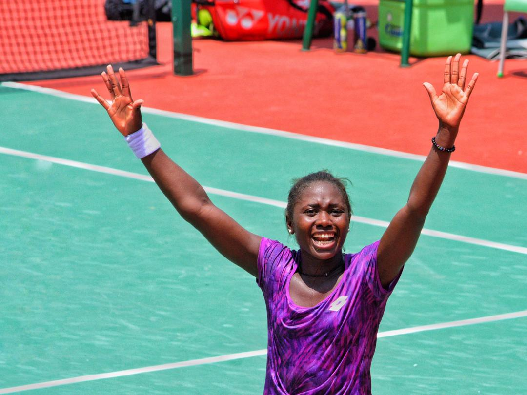 Photo : LAGOS OPEN TENNIS,  Ntiganzwa Jean
