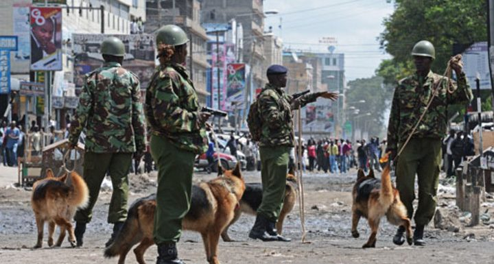 Photo : kenya-police-nairobi les eco.ma
