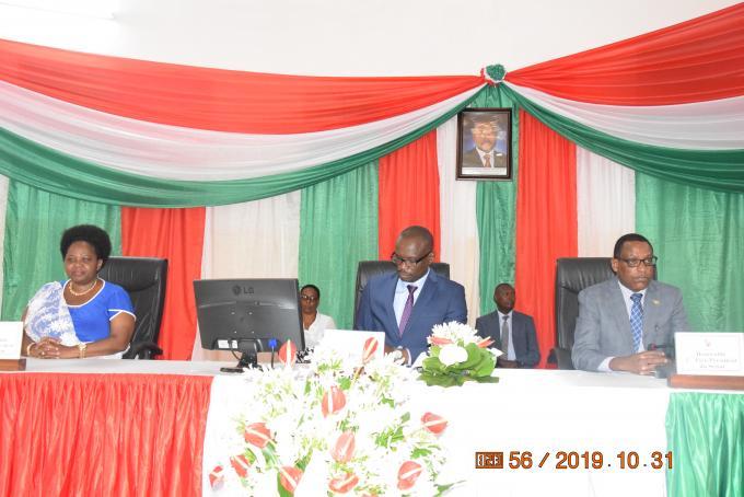 Gitega/Sénat: Clôture de la session ordinaire du mois d'août
