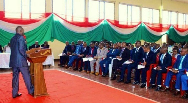Le chef de l'Etat Burundais, envisage mettre en  place  une commission chargée de suivre de près des activités de fin de mandat