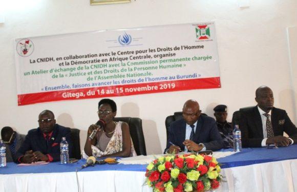 Burundi : Vers un partenariat entre l'Assemblée Nationale et la CNIDH en matière de Droits de l'Homme