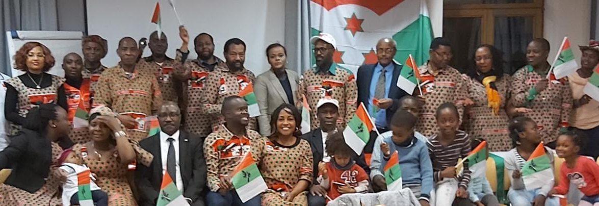 La section belge du Parti CNDD-FDD adresse un message de félicitations au Général Evariste Ndayishimiye, élu Président de la République du Burundi