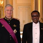 Le nouvel Ambassadeur du Burundi en Belgique Thérence NTAHIRAJA a présenté ses lettres de créances Sa Majesté le Roi Philippe