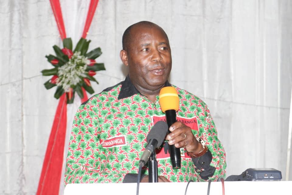 Le Général NDAYISHIMIYE Evariste, Sécrétaire Générale du CNDD-FDD ( Photo : INTUMWA )