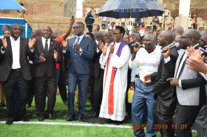 Makamba: la construction du Stade Peace Park Complex bientôt achevée
