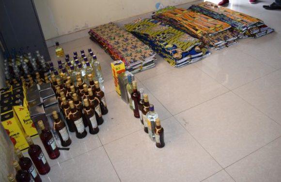 La Police saisit des marchandises fraudées en provenance de la RDC