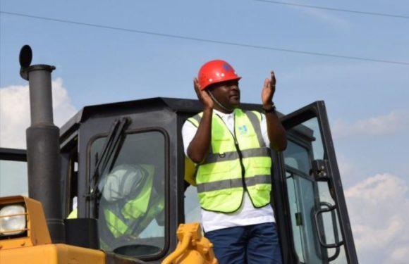 Le Chef de l'Etat lance les travaux d'aménagement et de bitumage de la RN18