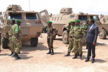 Le Burundi vient de doter des véhicules blindés à son contingent de l'AMISOM
